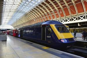 Heathrow Express to Paddington.