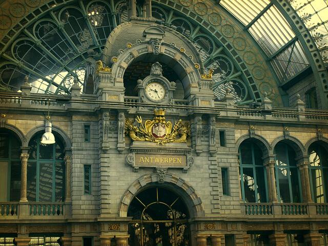 Antwerpen station, Belgium