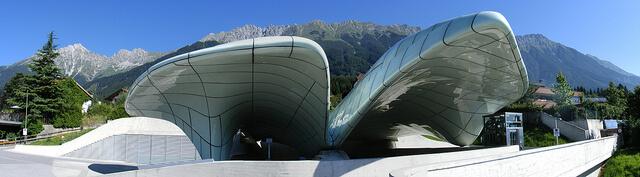 Hundenburg Station, Innsbruck.