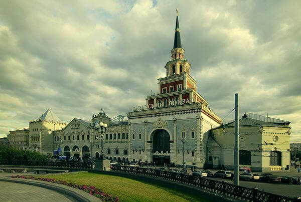 Kazansky Station, Russia.