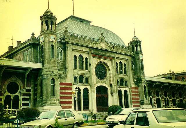 Sirkeci Station, Istanbul.