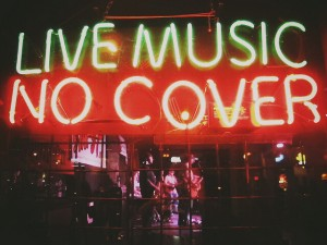 Music Venues in London.