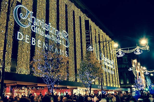 Debenhams, Oxford Street London