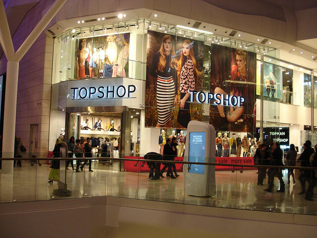 Topshop, Oxford Street