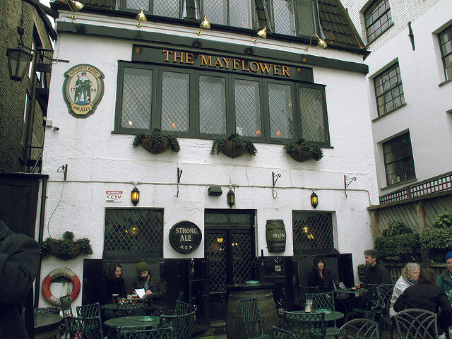 the Mayflower