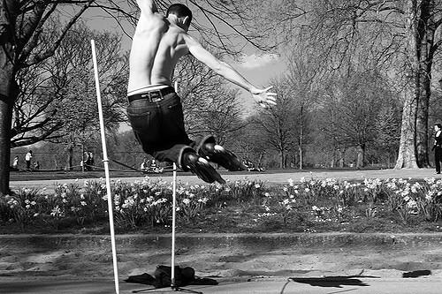 Hyde Park skating sports