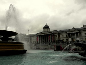 The National Gallery Trafalgar Square