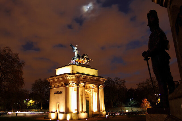 Wellington Arch, Hyde Park Corner. London