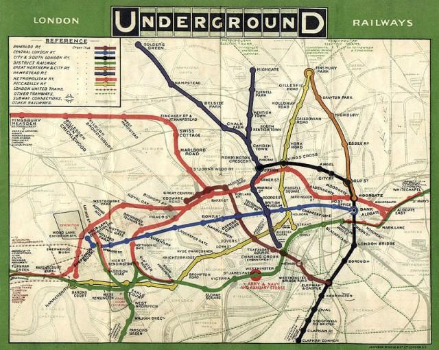 Tube Map.